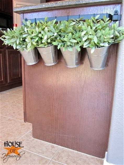 railing planters ikea ikea kitchen rail and cutlery hanging containers turned