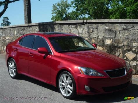 red lexus 2008 2008 lexus is 250 in matador red mica 051454 autos of