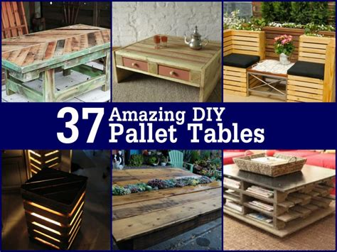 diy pallet 37 amazing diy pallet tables page 4 of 5