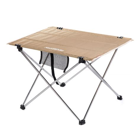 aluminum ultralight folding table small naturehike