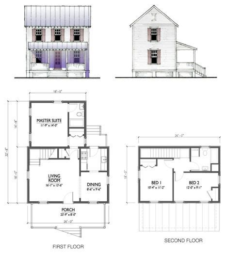 katrina cottage floor plans free home plans cottage plans for sale