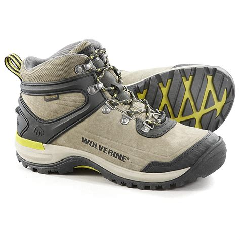 s wolverine waterproof impact mid hiking boots