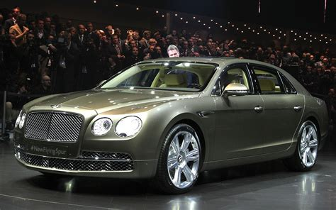 new bentley 4 door bentley flying spur debuts at geneva is most powerful