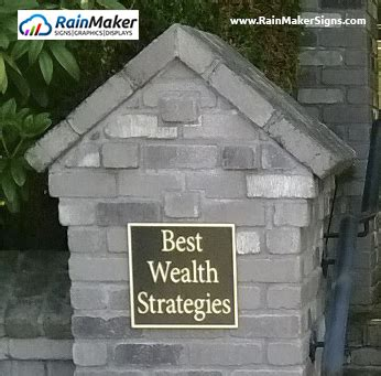 exceptional wealth clear strategies to protect and grow your net worth books engraved brass plaque for financial investment strategies