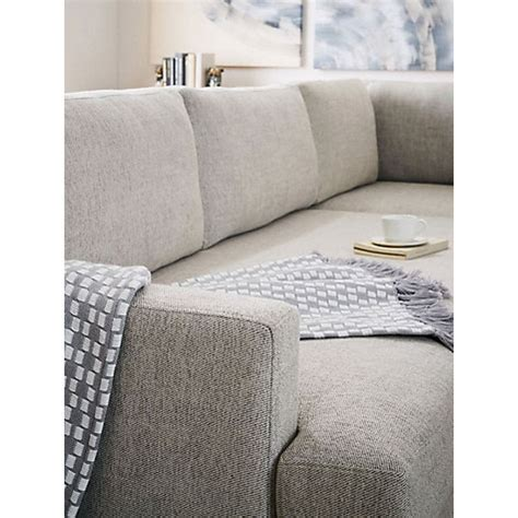 elm andes sofa review buy elm andes large 3 seater lhf sectional sofa