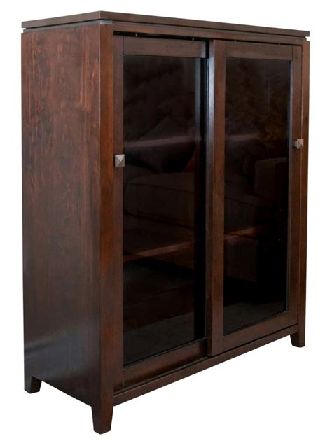 36 Inch Wide Armoire Simpli Home Cosmopolitan Collection Medium Storage Media Cabinet And Buffet Coffee