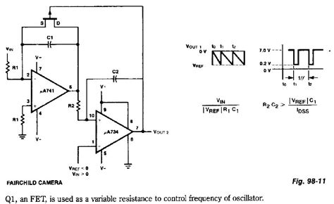 voltage controlled oscillator resistors electronic circuits for beginners voltage controlled oscillator vco