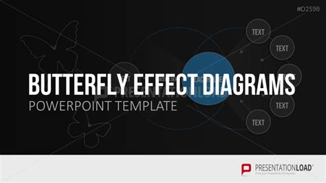 design effect in powerpoint butterfly effect diagrams powerpoint template
