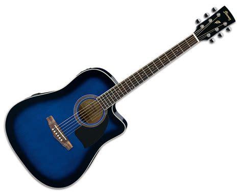 wallpaper guitar blue blue and black acoustic guitar 24 hd wallpaper