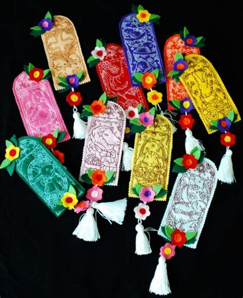 embroidery crafts projects easter bookmarks and ornaments advanced embroidery designs