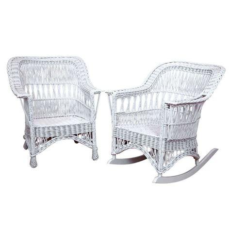 Antique Wicker Chair by X Jpg