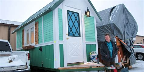 tiny houses wisconsin tiny homes for the homeless by homeless