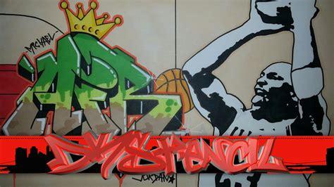 imagenes de graffiti jordan michael jordan graffiti letters stencil drawing