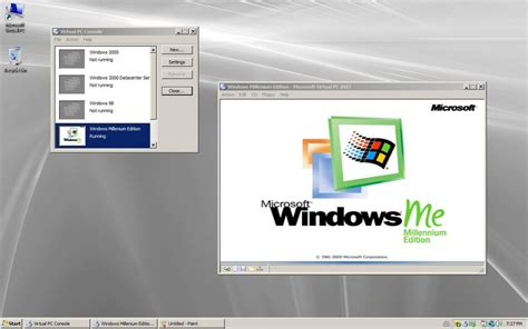 Windows Me windows me on vpc2007 by auron2 on deviantart