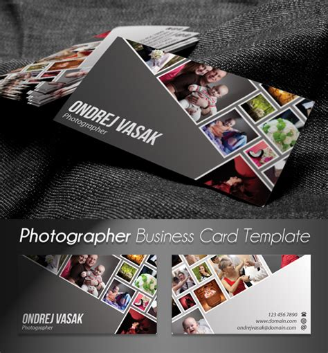 behance business card template photographer s business card template psd on behance