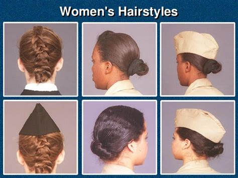 approved military haircuts for women authorized pictures of hairstyles for uniform policy