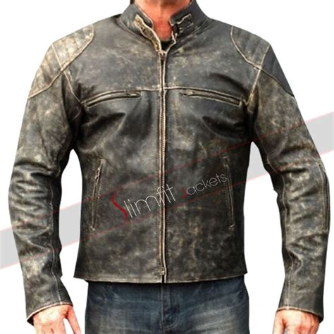 Motorrad Lederjacke Cafe Racer by Cafe Racer Motorcycle Distressed Brown Leather Jacket