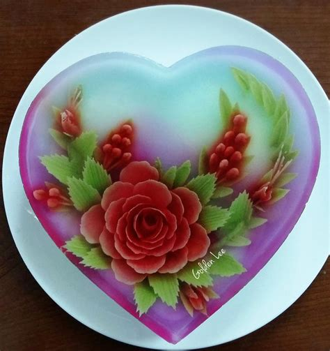 flower design jello 214 best images about 3d jelly cakes on pinterest flower