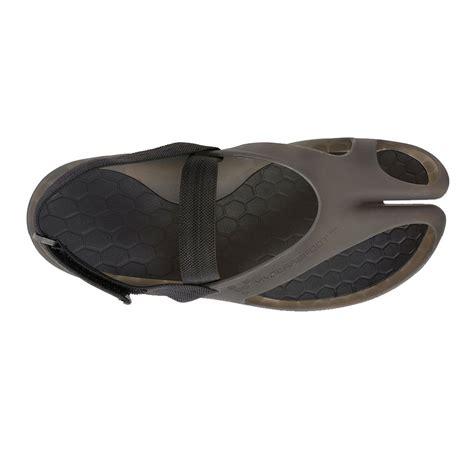 best running sandals shop vivobarefoot achilles ii running sandals black at