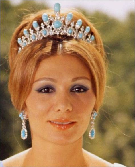 queen farah pahlavi iran empress farah of iran sleeping beauty turquoise which is