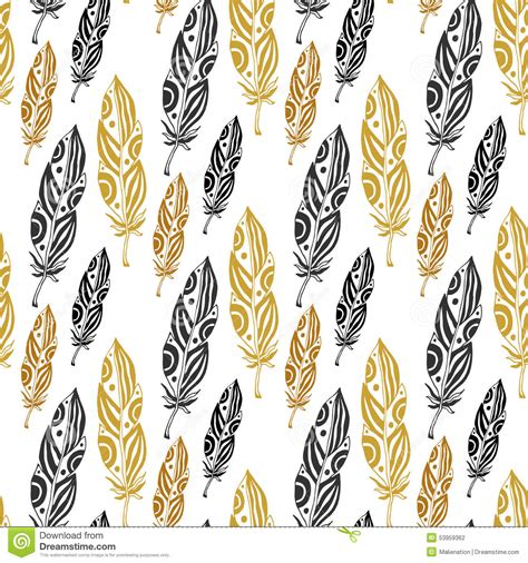 wallpaper tribal gold pics photos feather pattern abstract wallpaper for desktop