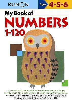 Kumon My Book Of Number 1 150 my book of numbers 1 120 kumon publishing 9784774307046