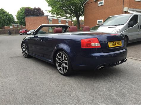 electric and cars manual 2005 audi a4 head up display 2004 04 audi a4 convertible 1 8 sport turbo rs4 rep smethwick sandwell mobile