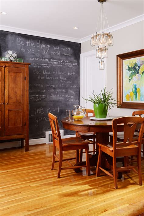 terrific large chalkboard wall decal decorating ideas