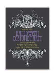 invitation costume invitation