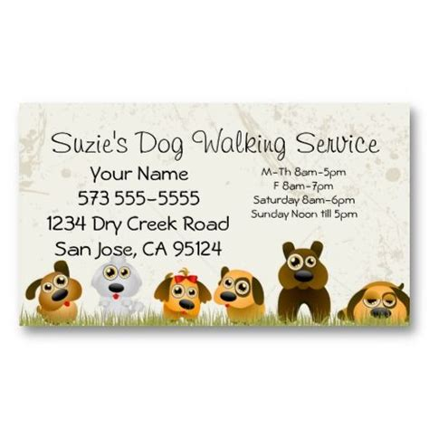 Free Pet Care Business Card Templates by Best 25 Walking Business Ideas On Pet