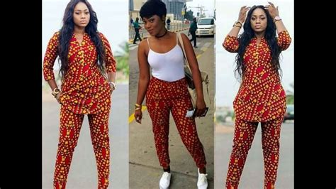 ankara designs for women trouser and jacket styles see 50 unique ankara top and trouser for ladies youtube