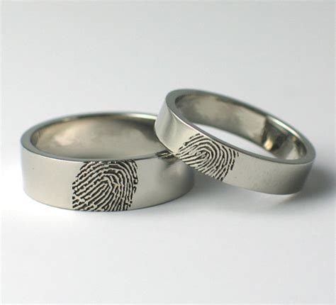 linh s the wedding band is a fingerprint ring which