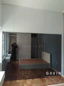 Cermin Grey project lemari sliding 3 pintu cermin di cideng kitchen