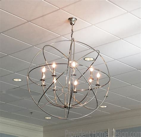 Orb Ceiling Light Diy Orb Ceiling Light Fixture