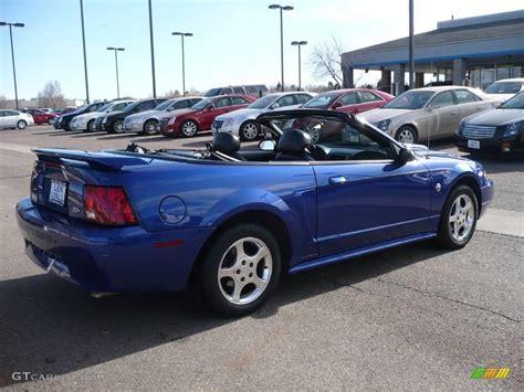 blue 2004 mustang 2004 sonic blue metallic ford mustang v6 convertible