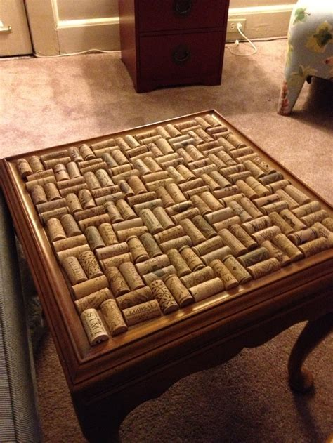 wine cork table top resin 10 best images about uso corcho on wine