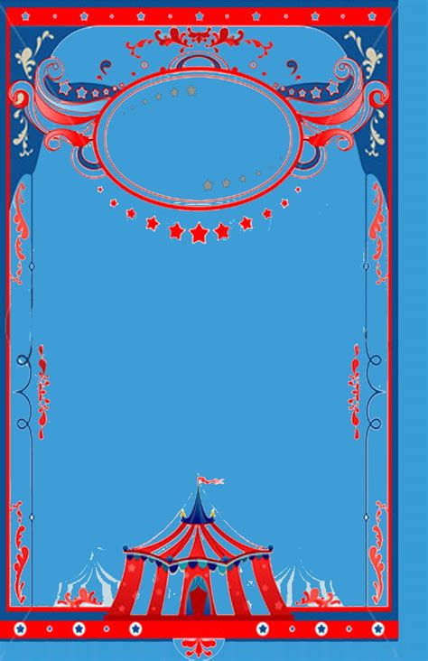 circus theme invitation templates circus theme background template baby shower