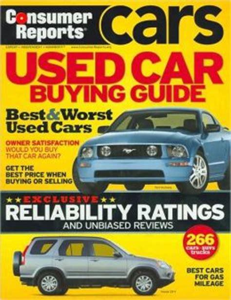 Consumer Reports Car Books by Consumer Reports Used Car Buying Guide By Consumer Reports 9781933524160 Paperback Barnes