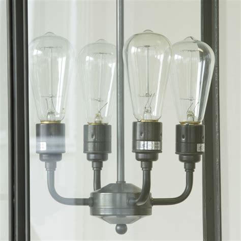 Sambungan Fitting Pemanjang Lu Led E27 65mm large square box light in brass 7638 4ele terra lumi