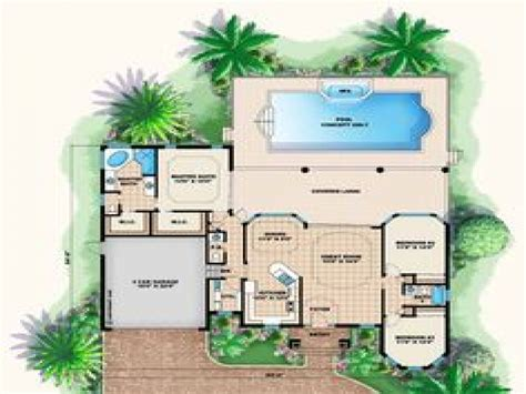 Fl Home Plans by Florida Style House Plans With Pool Florida Cracker Style