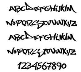 characters graffiti alphabet letters fonts