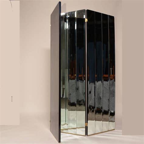 mirror room divider henredon beveled mirror room divider for sale at 1stdibs