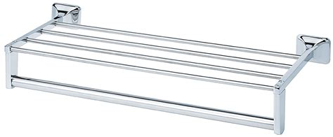 Towel Bar Shelf by Chrome Plated Towel Shelf With Towel Bar And Support