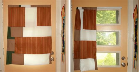 Doorway Privacy Curtains Cocktailmom Front Door Curtain Finally Some Privacy