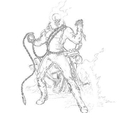 ghost rider coloring pages online free coloring pages of ghost rider