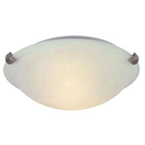 Hton Bay 2 Light Pewter Ceiling Flushmount Hb1313 12 How To Remove Ceiling Light