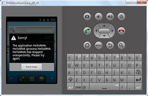Will Android Play M4a by Android Monodevelop Default M4a Application Quot Has Stopped