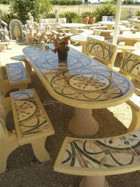 mesa piedra jardin una mesa de jardin de piedra un tesoro imperecedero