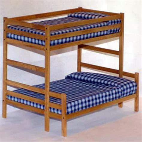 Pattern For Wood Loft Bed | twin over full bunk bed woodworking plans patterns ebay