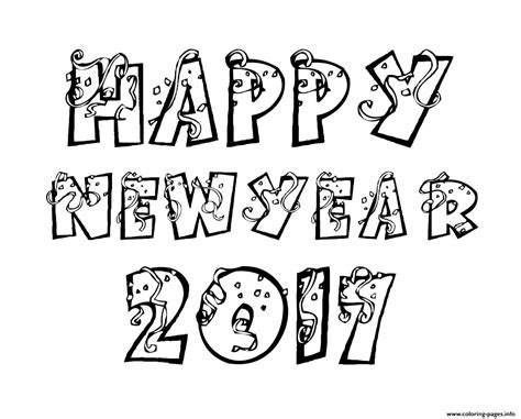 new year colouring posters happy new year 2017 coloring pages coloring pages printable